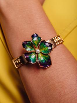 Bracelete Flor Inverno S&B