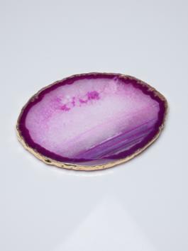 Platter de Ágata Rosa – P