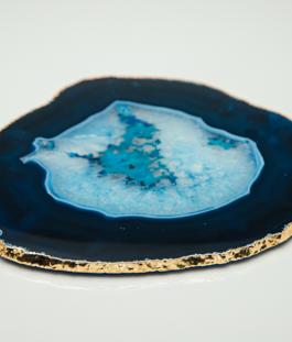 Platter Ágata Azul – G