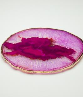 Platter Ágata Rosa – G