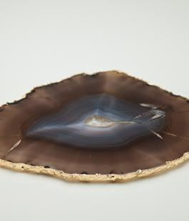 Platter Ágata Marrom – G